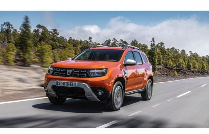 2022 Dacia Duster Facelift