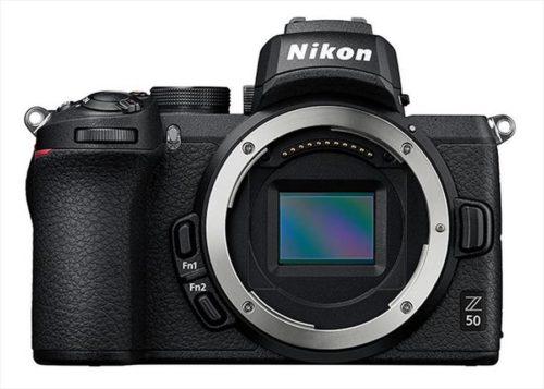 Nikon Z6, Z7, and Z50 Firmware Updates Released