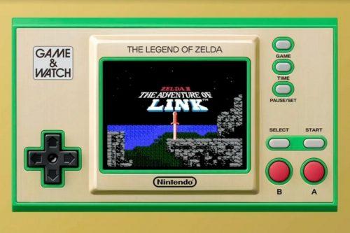 Nintendo Game & Watch Legend of Zelda Brings Three Classic Zelda Games To Your On-The-Go Gaming Stash