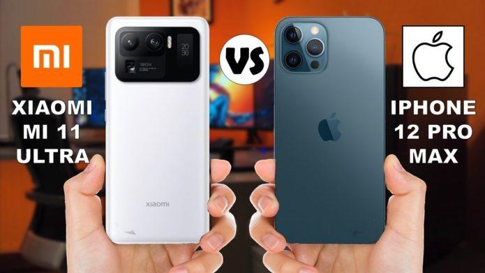 Xiaomi Mi 11 Ultra vs iPhone 12 Pro Max
