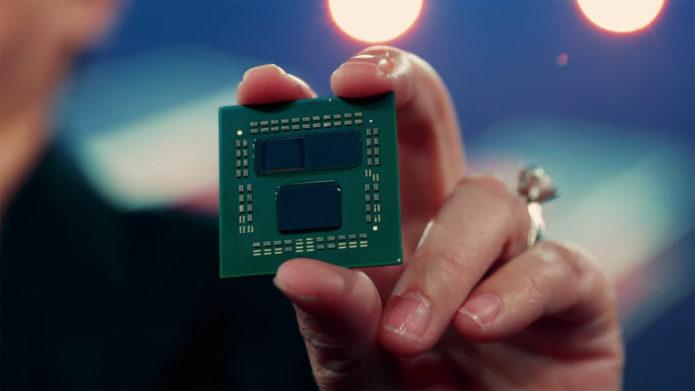 AMD 3D Chiplet