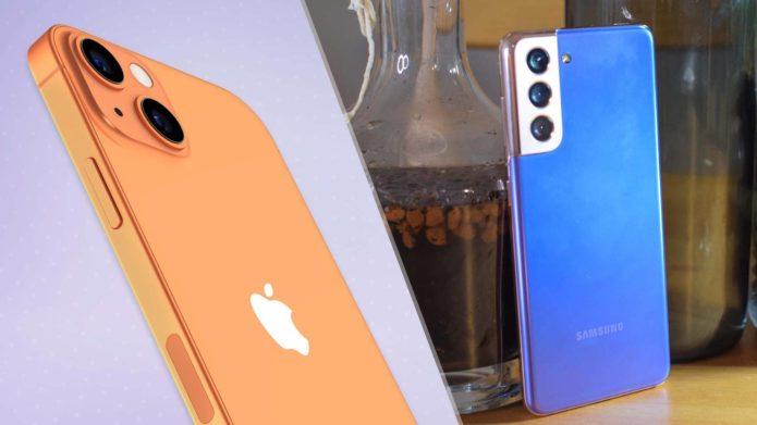 iPhone 13 vs. Samsung Galaxy S21