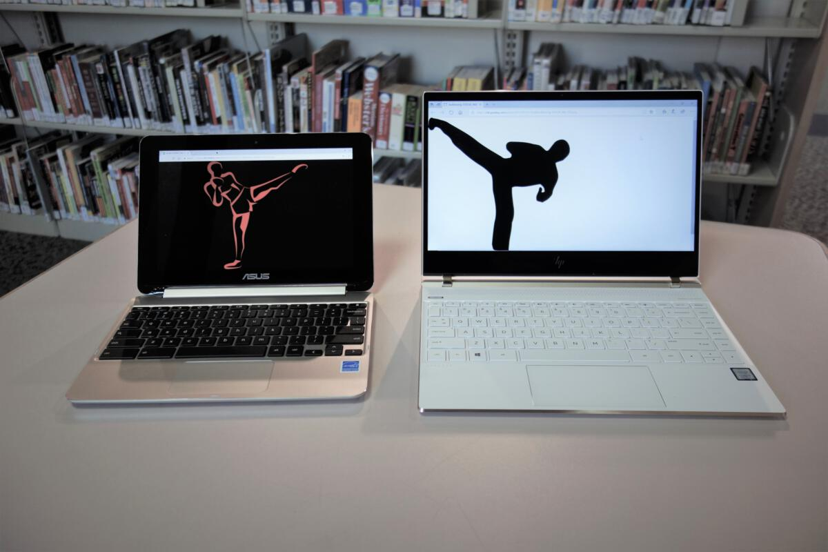 Chromebooks vs. laptop