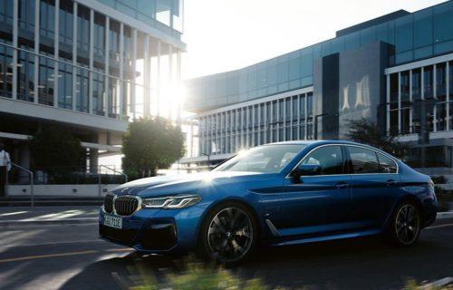 Sharp new BMW 5 Series rendered