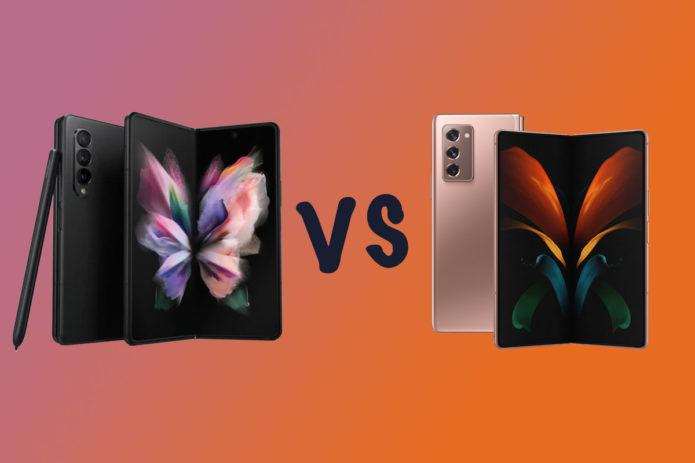 Samsung Galaxy Z Fold 3 vs Galaxy Z Fold 2