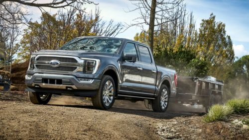Check out the Ford F-150 Lightning from all angles – with space for junk in its frunk