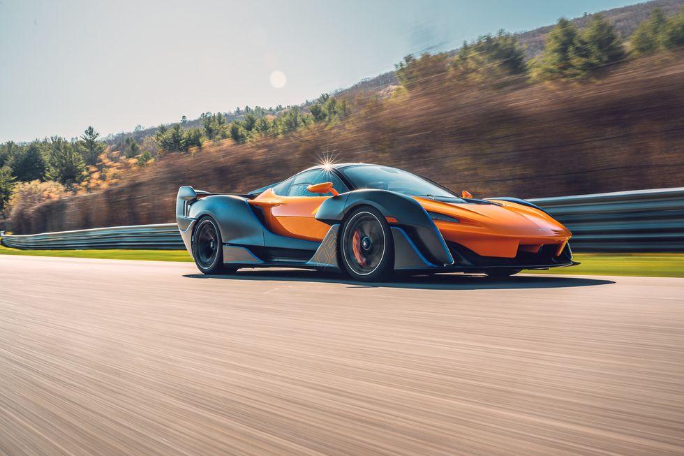 2021 McLaren Sabre Sharpens