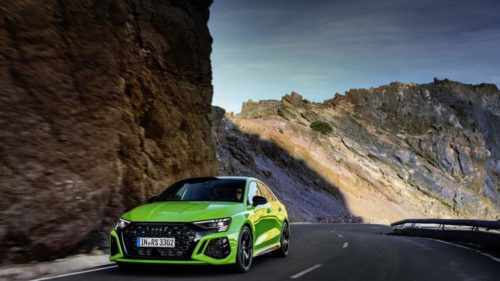 Audi RS3 Sedan Sets Nurburgring Lap Record For Compact Cars