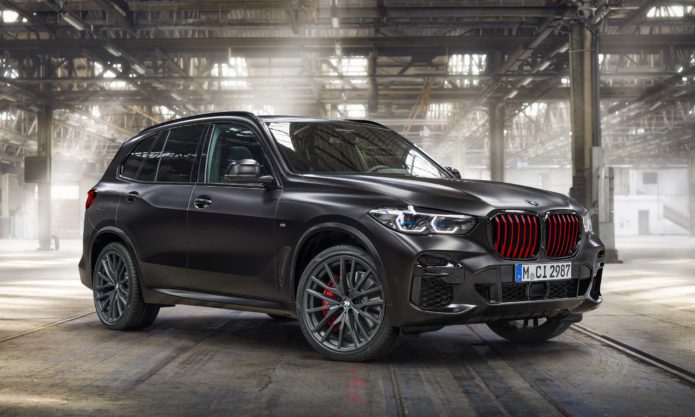 2022 BMW X5 Black Vermilion
