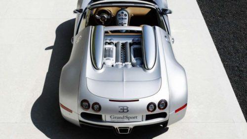 2008 Bugatti Veyron 16.4 Grand Sport 2.1 restored to its former glory