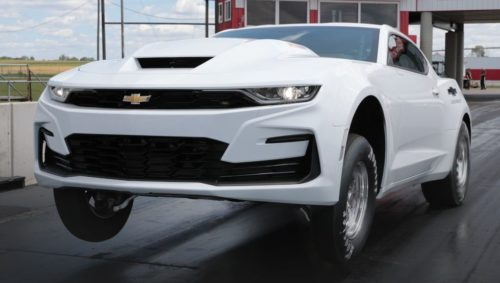 2022 Chevy COPO Camaro Revealed with 9.4-Liter, 572-Cubic-Inch V-8
