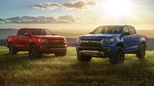 2022 Chevy Colorado Adds Trail Boss Off-Road Package