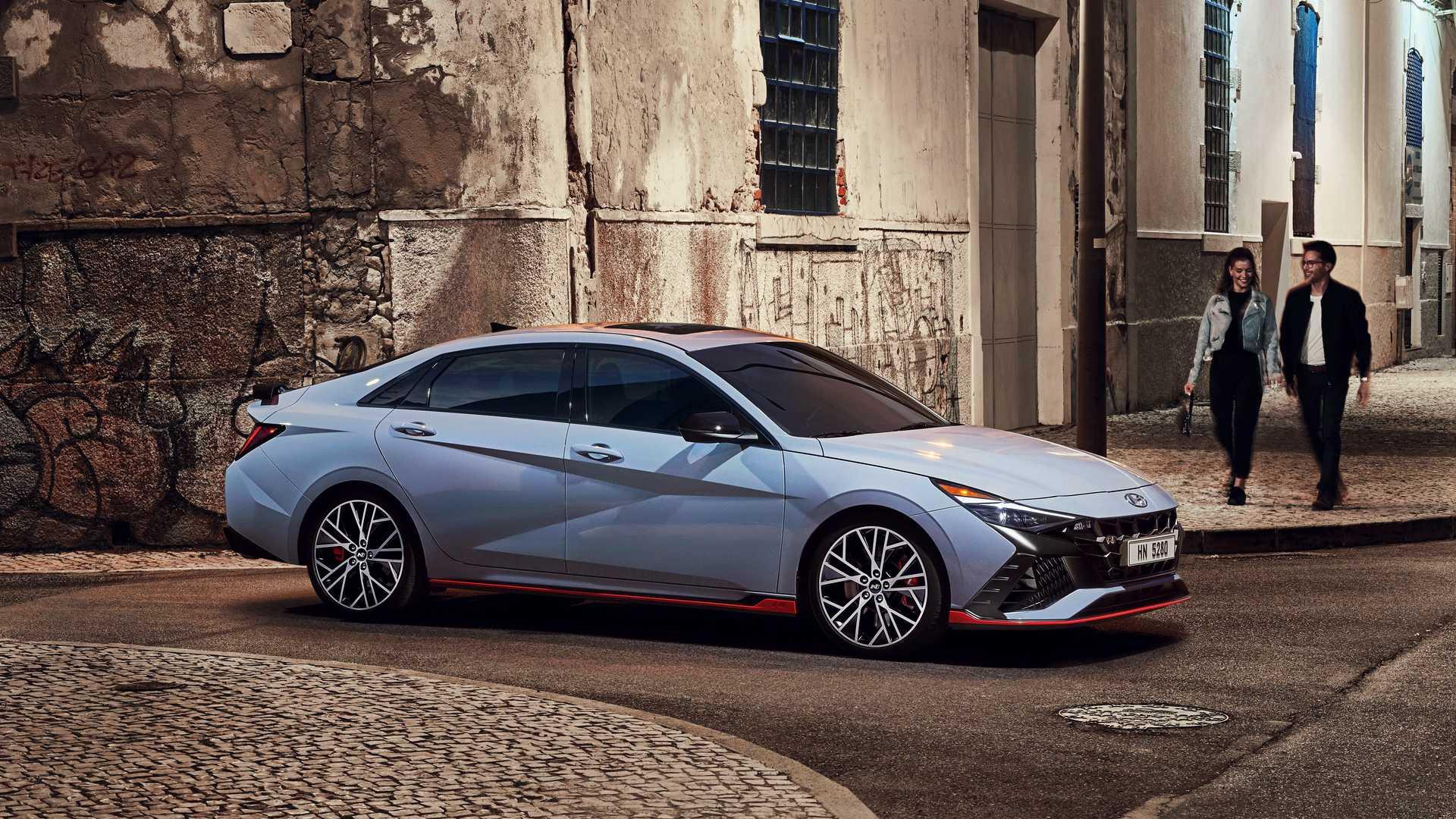 2022 Hyundai Elantra N Exterior