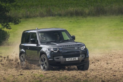 2022 Land Rover Defender V8 Bond Edition Looks Bodacious In Black