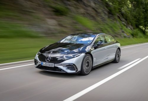 2022 Mercedes-Benz EQS Writes Its Own Rules