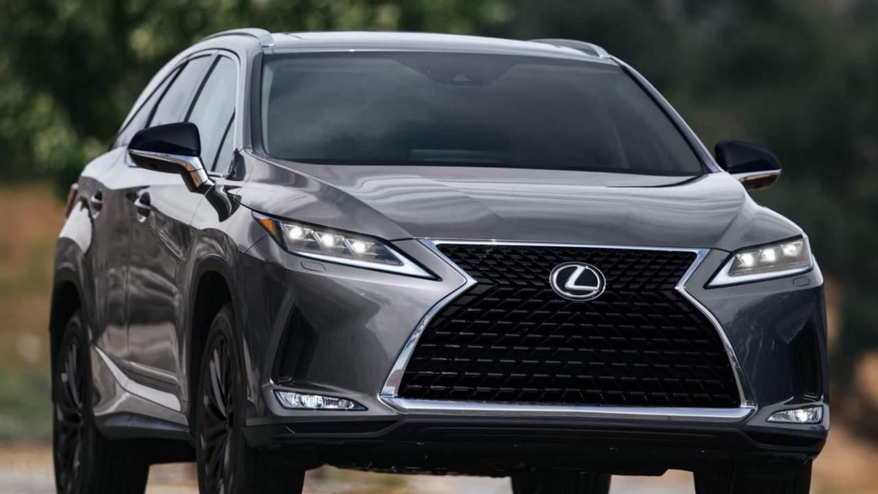 2022 Lexus RX L receives the Black Line treatment