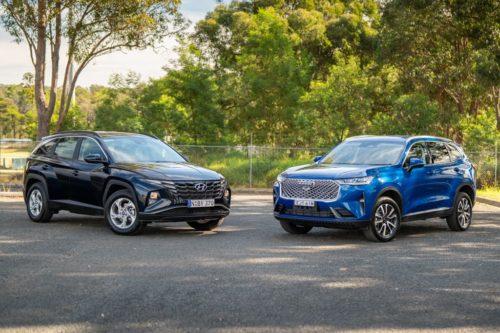 2021 Haval H6 Lux 2WD v Hyundai Tucson G2.0 FWD Comparison