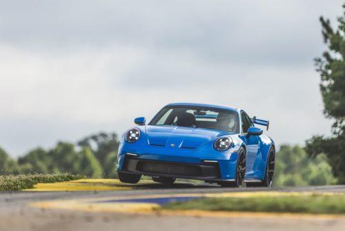 2022 Porsche 911 GT3 Takes On Road Atlanta