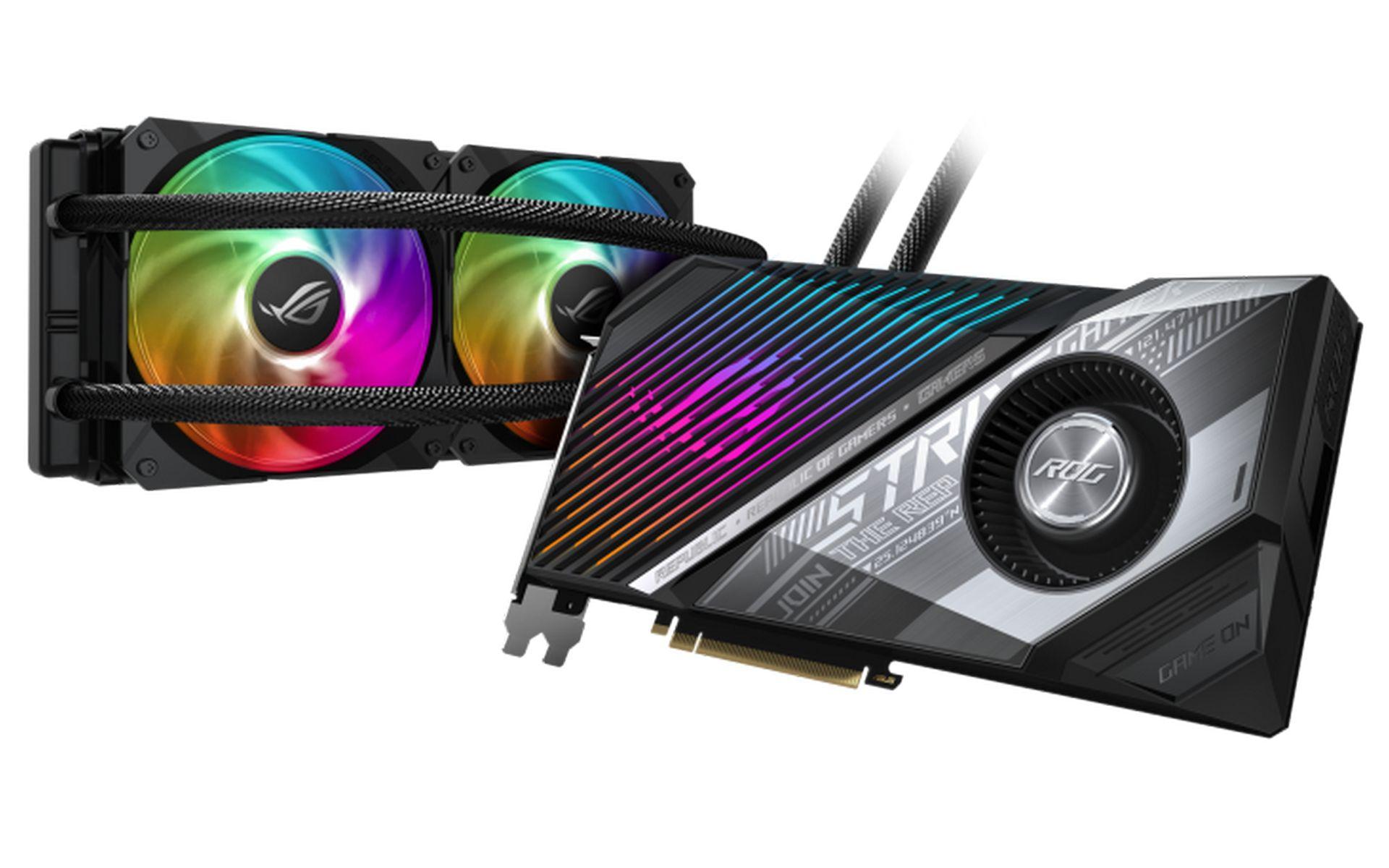 Asus ROG Strix LC AMD Radeon RX 6800 XT OC Edition