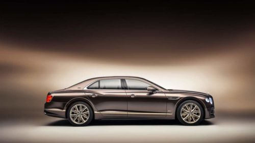 Bentley Flying Spur Hybrid Odyssean Edition features innovative sustainable materials
