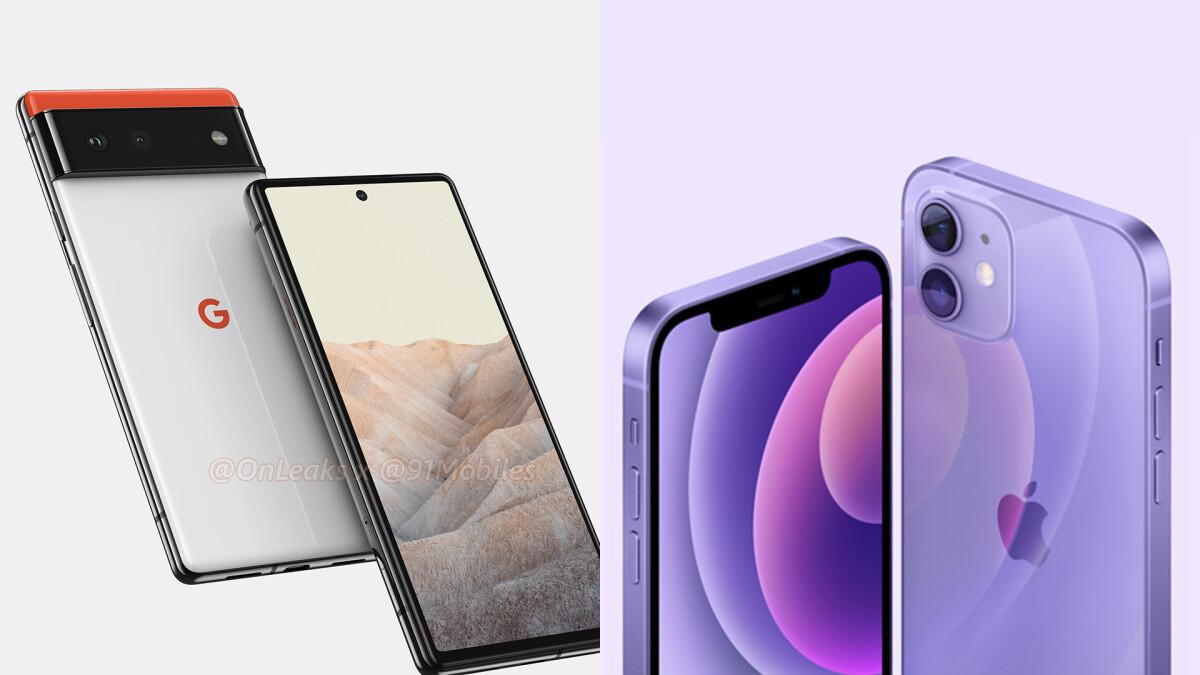 iPhone 13 vs. Google Pixel 6