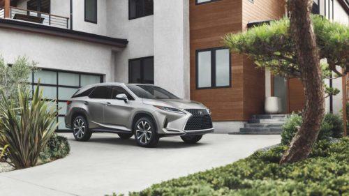 2022 Lexus RX 350L and 450hL SUVs revealed