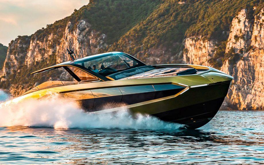 Lamborghini boat
