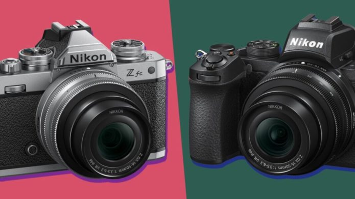 Nikon Zfc vs Nikon Z50
