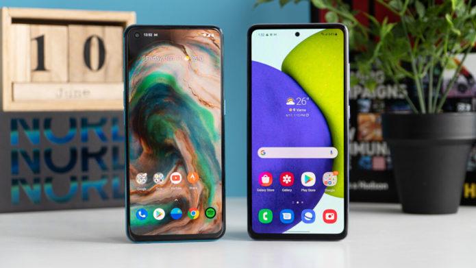 OnePlus Nord CE 5G vs Samsung Galaxy A52 5G