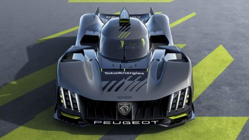 Peugeot 9X8 is a wingless hybrid racing car