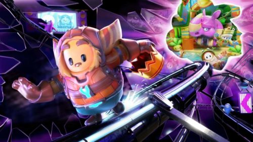 Ratchet & Clank's dimension hopping has landed them in Fall Guys