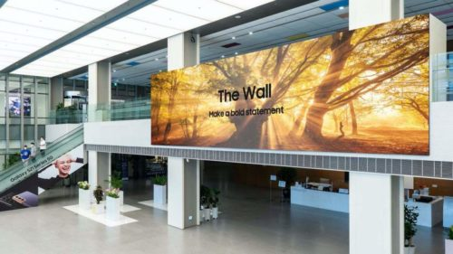 Samsung's 2021 The Wall is 1,000 inches of modular 8K Micro LED TV