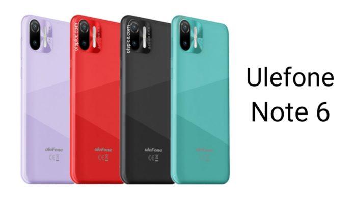 Ulefone Note 6