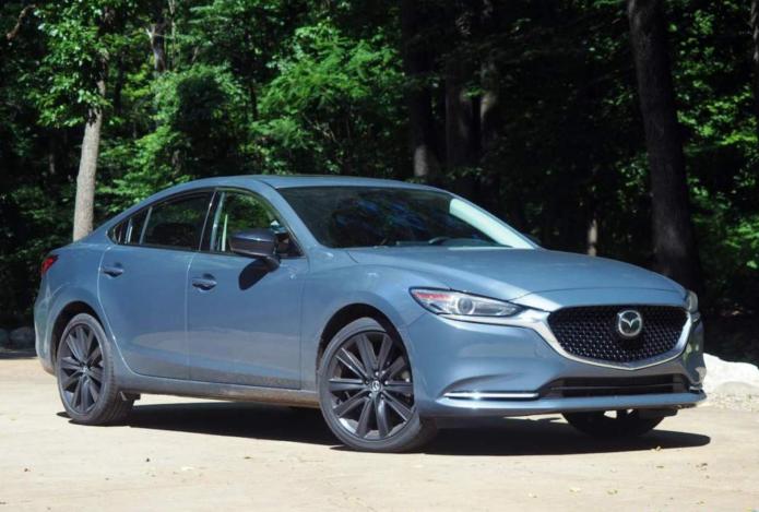 2021 Mazda6 Carbon Edition