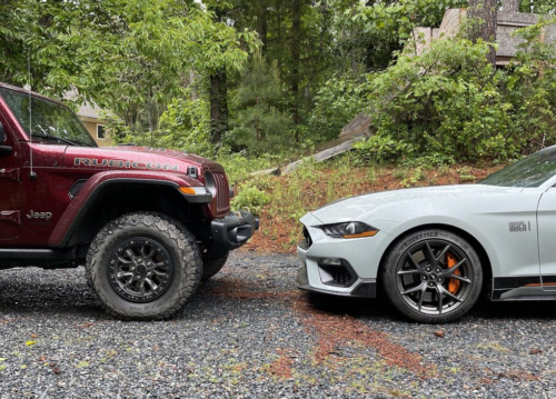 Would You Rather: Ford Mustang Mach 1 or Jeep Wrangler Rubicon 392?