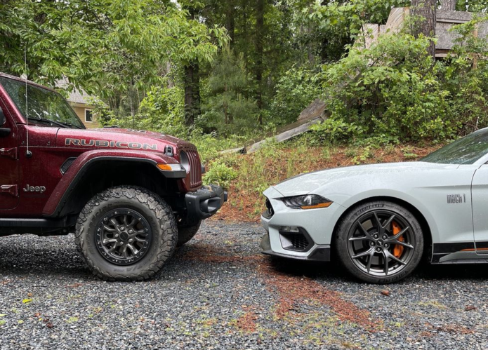 Ford Mustang Mach 1 or Jeep Wrangler Rubicon 392