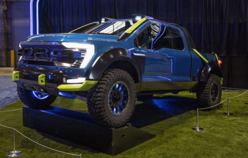 Ford F-150 Rocket League Edition Leaps off the Screen into Real Life
