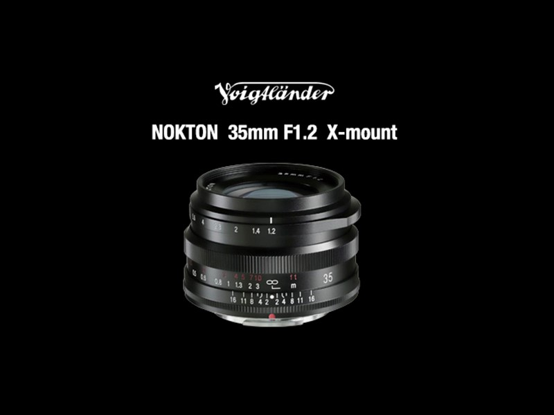 Cosina Voigtlander Nokton 35mm F1.2 for Fujifilm X system cameras