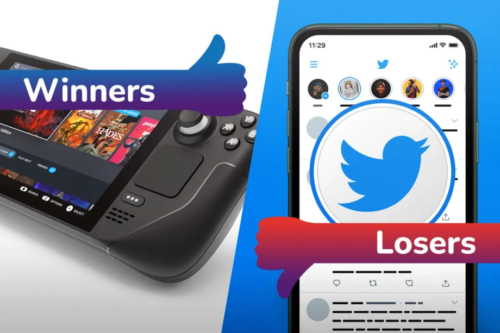 Winners and Losers: Steam Deck decimates Switch OLED, Twitter's Fleets bite the dust