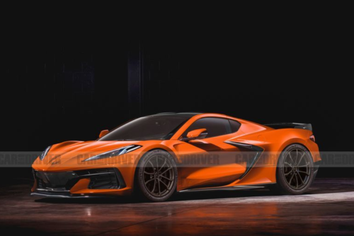 Listen to the First Official Video of the C8 2023 Chevy Corvette Z06