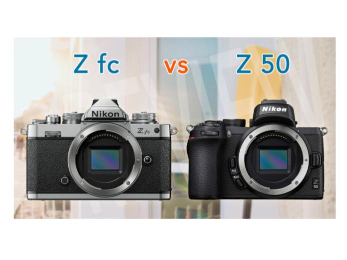 Nikon Z fc vs Z50