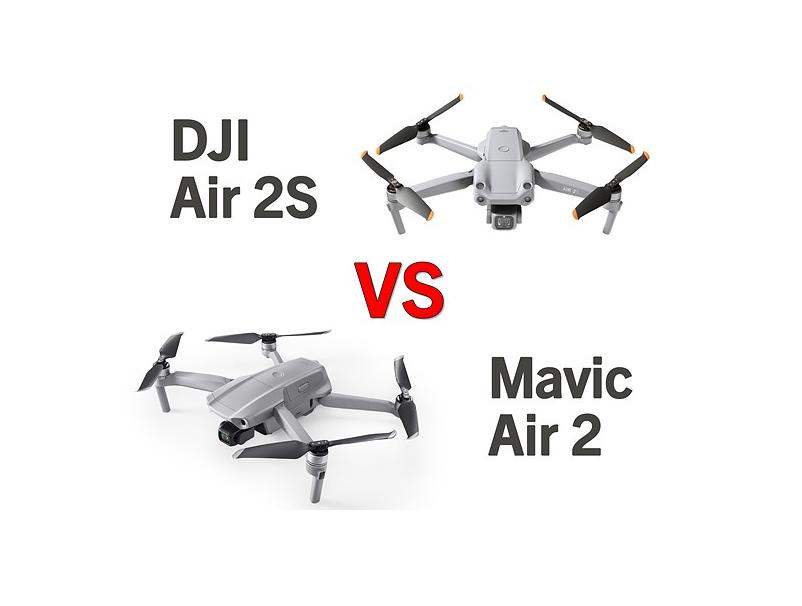 DJI Air 2S vs. Mavic Air 2