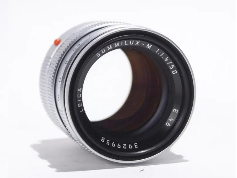 Leica 50mm f1.4 lens