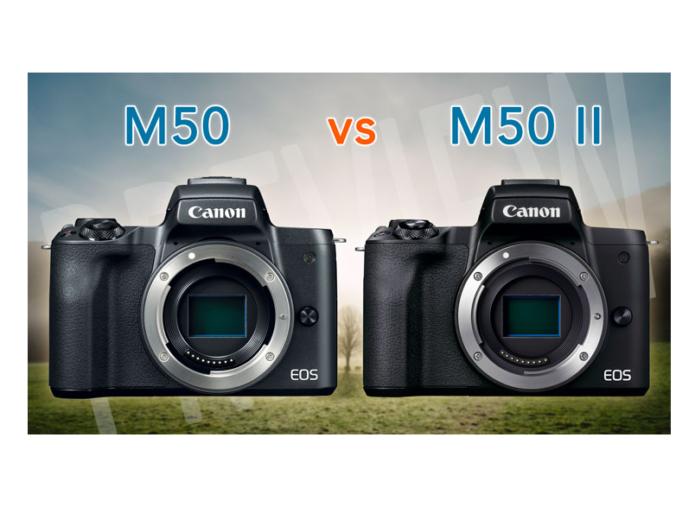 Canon M50 vs M50 mark II