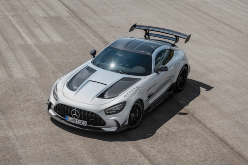 The 2021 Mercedes-AMG GT Black Series Is a Teutonic War Hammer for the Track