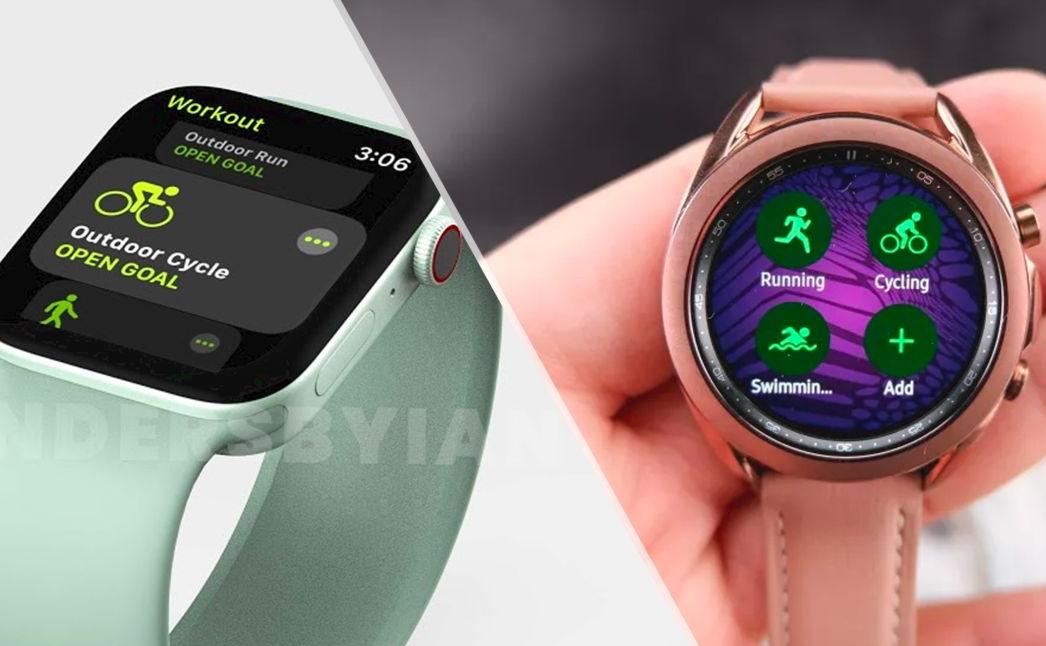 Apple Watch 7 vs. Samsung Galaxy Watch 4