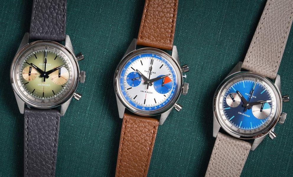 Massena LAB Uni-Racer watches