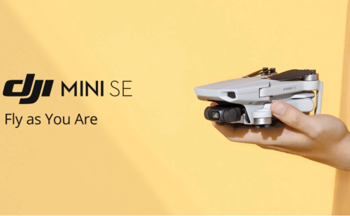 DJI Mini SE: A cheap entry-level drone that will not be sold globally
