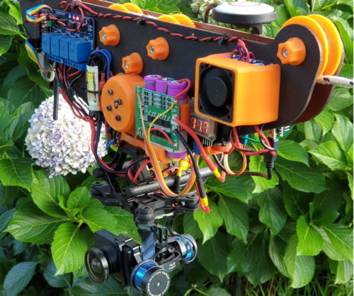 Engineering student created an impressive DIY cable cam with AI-powered tracking