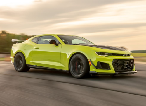 There's Talk of Chevy Replacing the Camaro with an Electric Sports Sedan